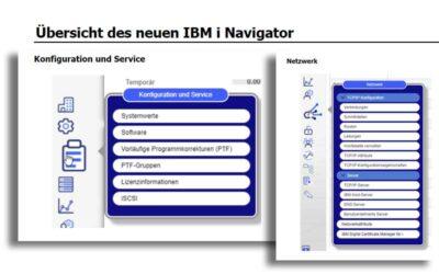 IBM i Navigator der nächsten Generation